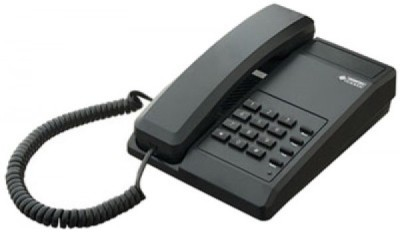 Beetel BT-B11 Corded Landline Phone(Black)  available at flipkart for Rs.699