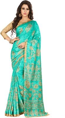 SGM Paisley, Self Design, Printed Bollywood Art Silk Saree(Multicolor)