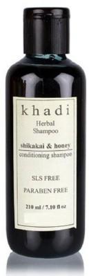 Khadi Herbal Shikakai and Honey SLS and Paraben Free Shampoo(210 ml) Flipkart