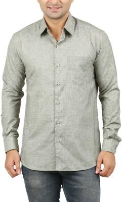 LEAFLIME Men's Solid Formal Shirt