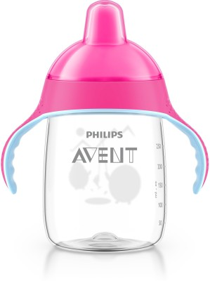 Philips Avent Toddler Spout Cup With Twin Handle(Pink)