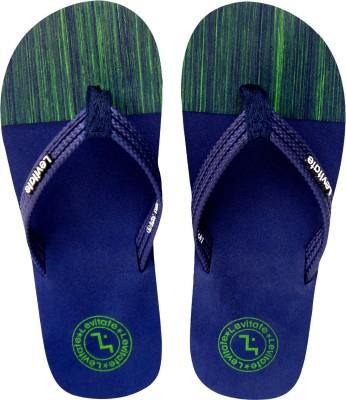 Levitate Boys & Girls Slip On Slipper Flip Flop(Dark Blue)