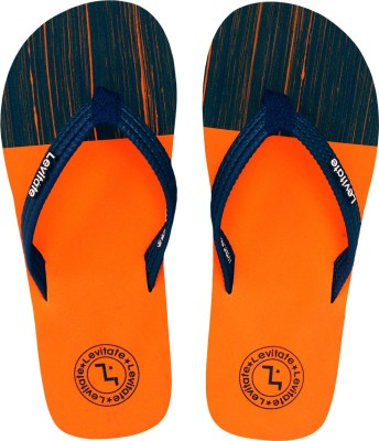 Levitate Boys & Girls Slip On Slipper Flip Flop(Orange)