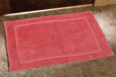 Avira Home Cotton Bathroom Mat(Rust, Free) at flipkart