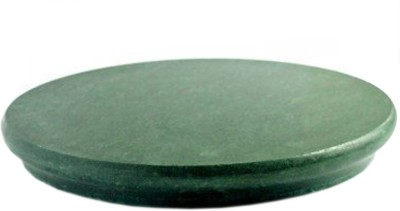 HALO NATION HALO NATION Green Marble Chakla - 9 Inches Diameter - Single Stone Carved Rolling Pin Board , Roti Maker - From Banks of Holy River Narmada … Board(Green, Pack of 1)  available at flipkart for Rs.299