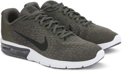 Nike AIR MAX SEQUENT Running Shoes For Men(Green) 1
