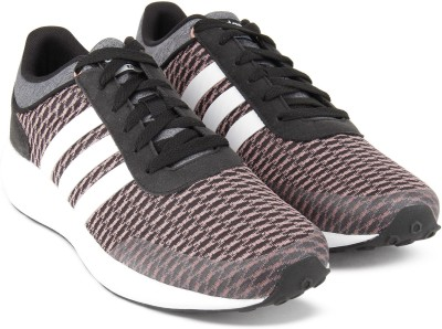 ddb5ee9148bd26 54% OFF on ADIDAS NEO CF QT RACER MID W Sneakers For Women(Brown ...