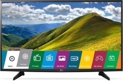 LG Smart 123cm (49 inch) Full HD LED TV(49LJ523T) at flipkart