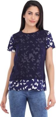 Cottinfab Casual Short Sleeve Animal Print Women