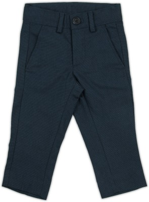 United Colors of Benetton Slim Fit Baby Boys Dark Blue Trousers at flipkart