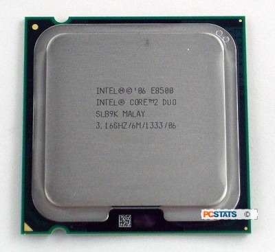 Intel 3.16 GHz LGA 775 e 8500 Processor(Silver)