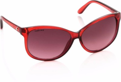 Fastrack Cat-eye Sunglasses(Red)