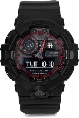 Casio G763 G Shock   GA 700SE 1A4DR   Analog Digital Watch   For Men Casio Wrist Watches