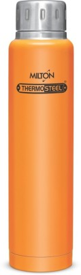 Milton Insulated Steel Bottles ELFIN THERMOSTEEL ELFIN VACCUM BOTTLE 500 ml Flask(Pack of 1, Orange)  available at flipkart for Rs.799