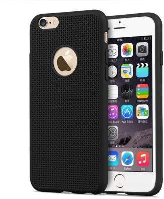 KartV Back Cover for Apple iPhone 6 Black, Silicon KartV Plain Cases   Covers