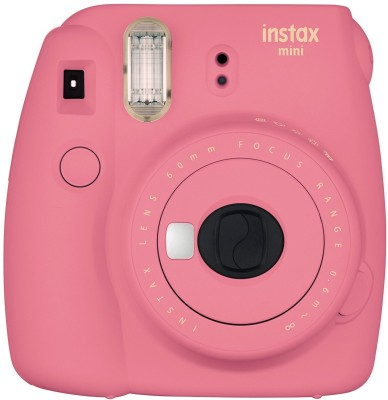 Fujifilm Mini 9 Flamingo Pink Instant Camera(Pink)