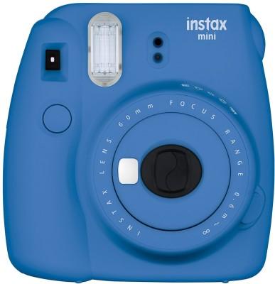 Fujifilm Mini 9 Cobalt Blue Instant Camera(Blue)