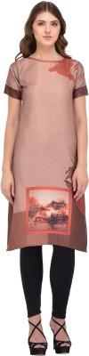 Expert E-Commerce Services Festive & Party Printed Women Kurti(Multicolor)