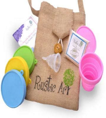 Rustic Art Large Reusable Menstrual Cup(Pack of 1)