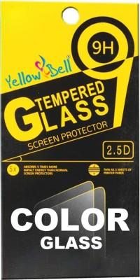 Yellow Bell Edge To Edge Tempered Glass for Mi Redmi 3s Prime