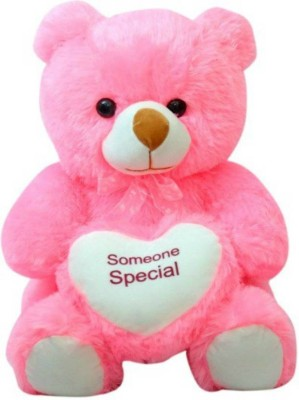 Kidz Zone Someone Special Stuff Cute Teddy Bear  - 25 cm(Pink)  available at flipkart for Rs.325