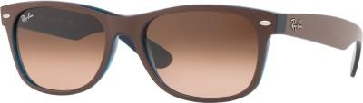 Ray-Ban Wayfarer Sunglasses(Brown) at flipkart