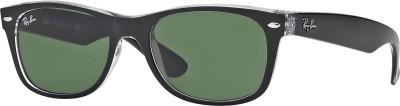 Ray-Ban Wayfarer Sunglasses(Green) at flipkart