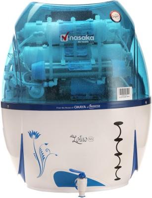 Nasaka Lotus N1 13L RO+UV+UF Water Purifier (Blue & White)