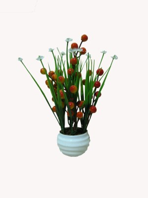 Loxia 4186 Multicolor Assorted Artificial Flower  with Pot(8.2 inch, Pack of 1)  available at flipkart for Rs.250