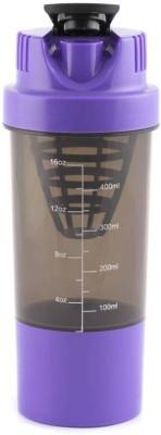 Kombuis Kitchenware 500 ml Water Purifier Bottle(Purple, Green)