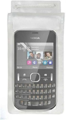 ACM Pouch for Nokia Asha 200(Transparent, Waterproof, Silicon)