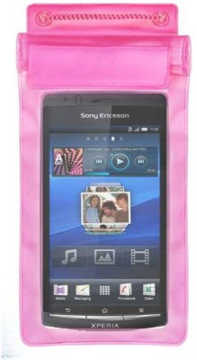 ACM Pouch for Sony Ericsson Xperia Arc S Lt18i(Pink, Waterproof, Silicon)