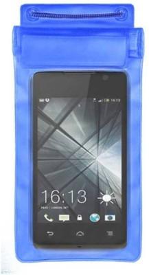ACM Pouch for Lava Iris 349Plus(Blue, Waterproof, Silicon)
