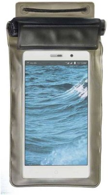ACM Pouch for Reliance Jio LYF Water 6(Black, Waterproof, Silicon)