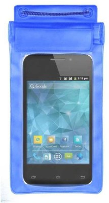 ACM Pouch for Spice Smart Flo Space Mi-354(Blue, Waterproof, Silicon)