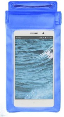 ACM Pouch for Reliance Jio LYF Water 6(Blue, Waterproof, Silicon)