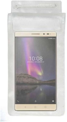 ACM Pouch for Lenovo Phab 2 Plus Transparent, Waterproof, Silicon