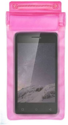 ACM Pouch for Zen Admire Curve(Pink, Waterproof, Silicon)