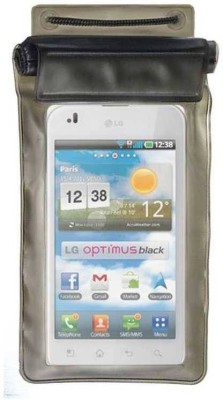 ACM Pouch for Lg Optimus P970(Black, Waterproof, Silicon)