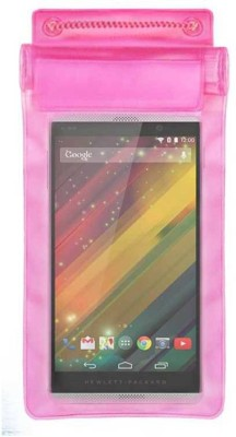 ACM Pouch for Hp Slate 6 Voicetab 2(Pink, Waterproof, Silicon)