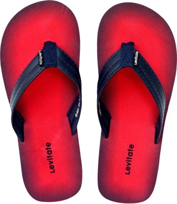 Levitate Boys & Girls Slip On Slipper Flip Flop(Red)