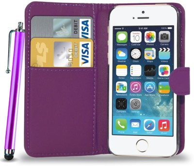N+India Cover Accessory Combo for Apple IPhone 5S/SE/5(Purple)