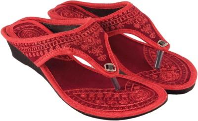 Shopping World Women Red Flats