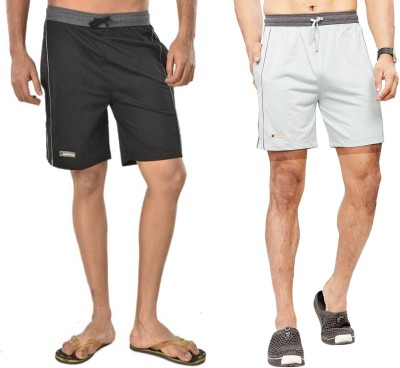 Bumchums Solid Men s Multicolor Beach Shorts 489fb45e56e