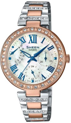 Casio SH196 Sheen Analog Watch For Women