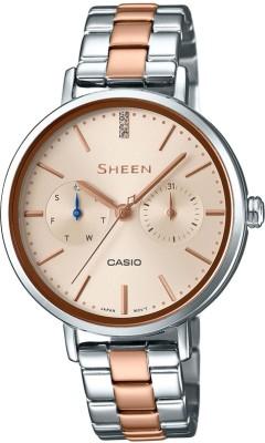 Casio SX198 Sheen Analog Watch For Women