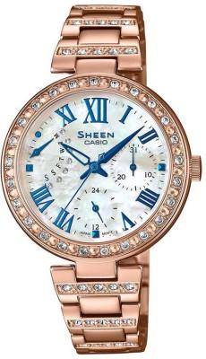 CASIO SH194 Sheen ( SHE-3043BPG-7AUDR ) Analog Watch - For Women