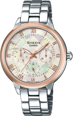 Casio SX192 Sheen Analog Watch For Women