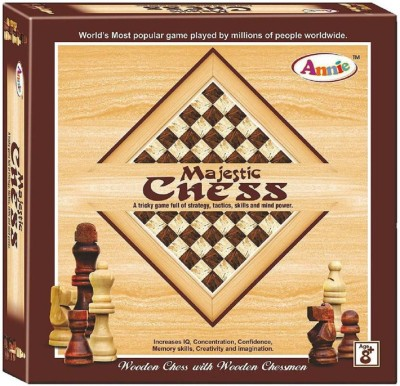 Goyal Majestic Wooden Chess Board Game  available at flipkart for Rs.799