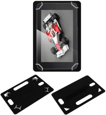 ACM Back Cover for Xolo Tw800(Black, Grip Case, Artificial Leather)